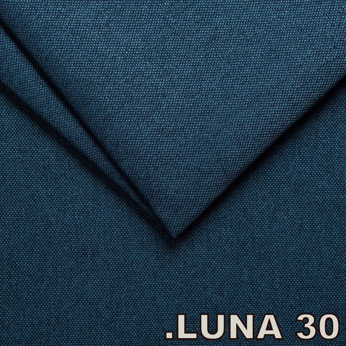 Luna 30 Blue (Tissu Tweed structure fine)