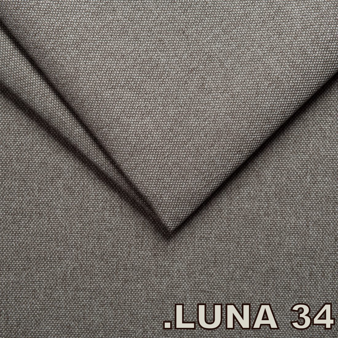 Luna 34 Grey (Tissu Tweed structure fine)