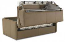 ALICE, Canapé convertible Rapido,<br>Revêtement PU Coventry ou Corium,<br>Couchage 75, 120, 140 ou 160cm