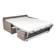 ALICE, Canapé convertible Rapido,<br>Revêtement Tissu Artemis ou Luna,<br>Couchage 75, 120, 140 ou 160cm