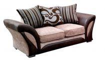 Canapé 2 places SHANNON revêtement principal tissu COBRA