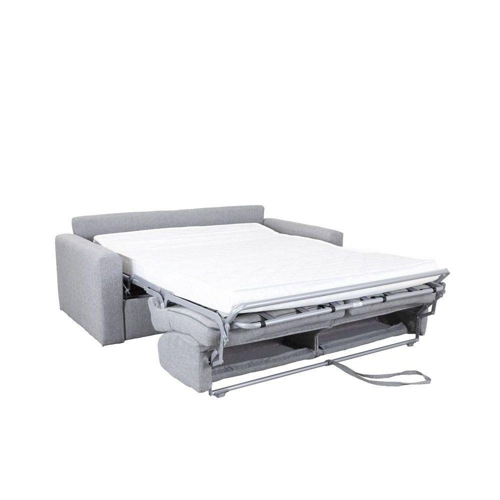 Canapé convertible BOLOGNA ouverture rapid\'lit, couchage 140cm tissu ARTEMIS