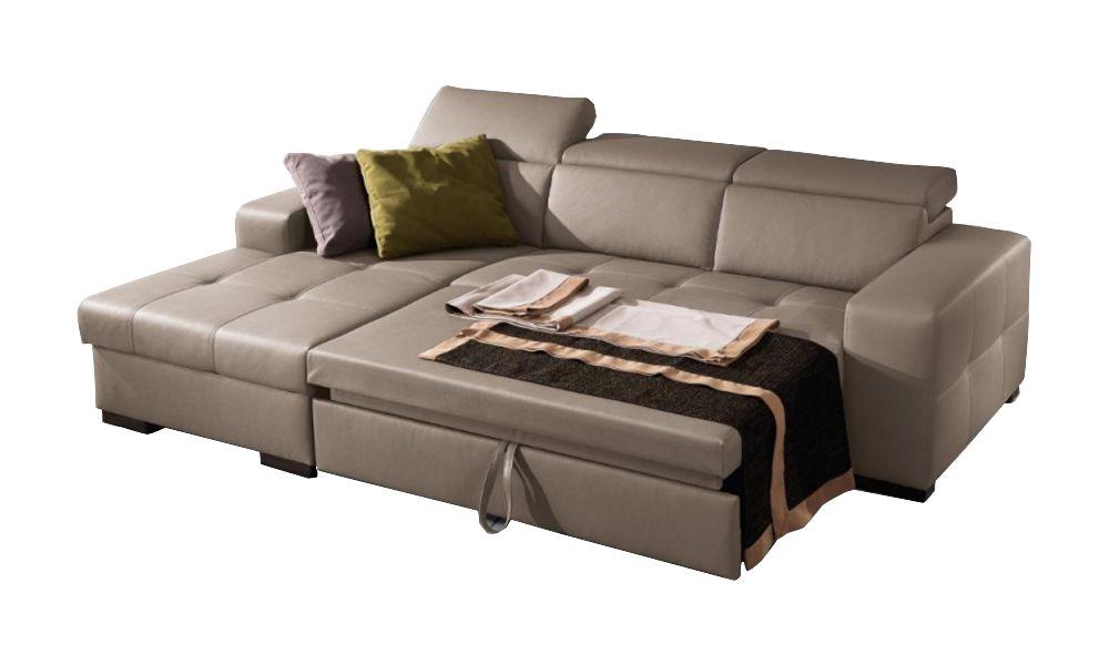 Canapé convertible Dylan système gigogne angle gauche (non réversible) tissu tweed MARA