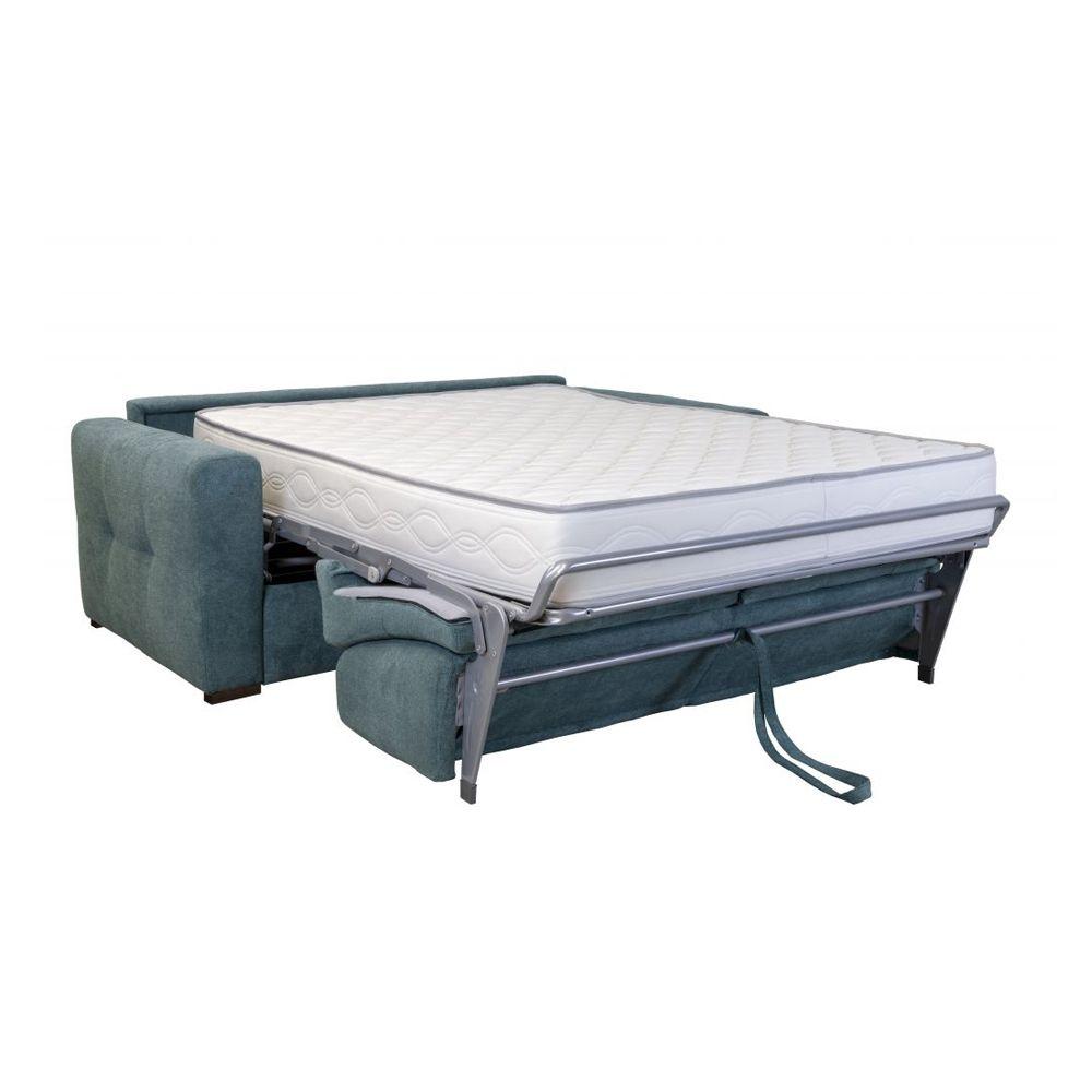 Canapé convertible PRIMO 22 usage quotidien couchage 120cm, système rapido avec matelas de 22cm, en tissu chiné ARTEMIS