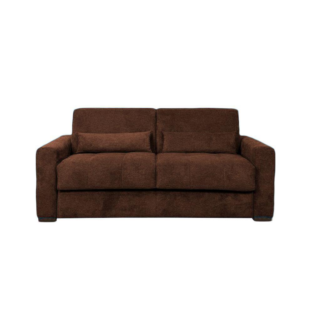 Canapé convertible PRIMO 22 usage quotidien couchage 140cm, système rapido avec matelas de 22cm, en tissu chiné ARTEMIS