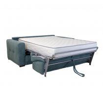 Canapé convertible PRIMO 22 usage quotidien couchage 160cm, système rapido avec matelas de 22cm, en tissu LUNA