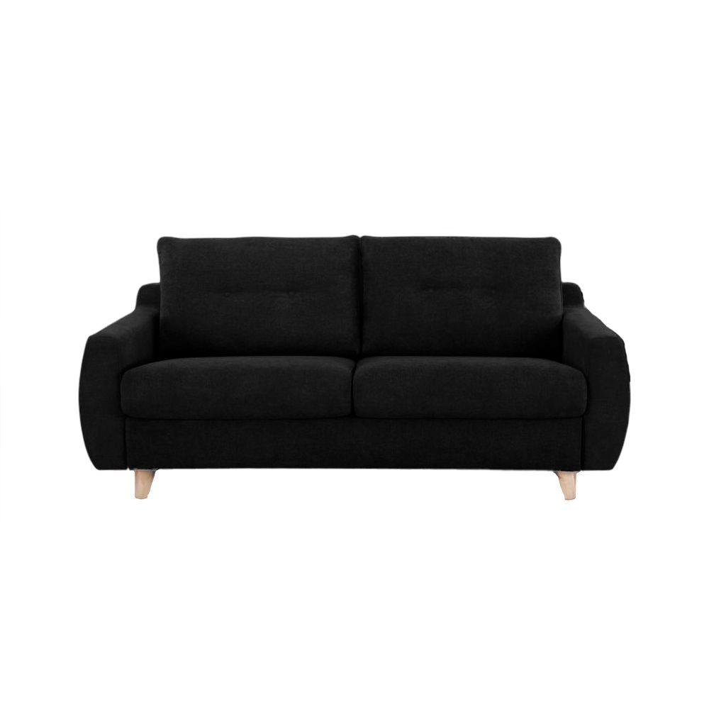 Canapé convertible Rapid\'lit STELLA, couchage 120cm en tissu chiné ARTEMIS