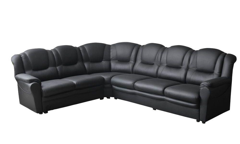 Canapé d\'angle TEXAS réversible en simili cuir