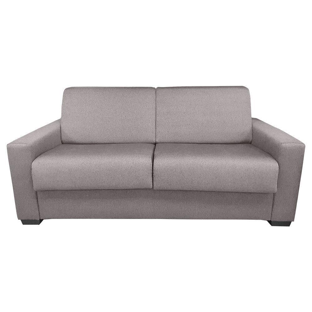 GIANT21, Convertible usage quotidien, revêtement Tissu effet Cuit Tobago ou Largo, couchage 120cm/140cm ou 160cm