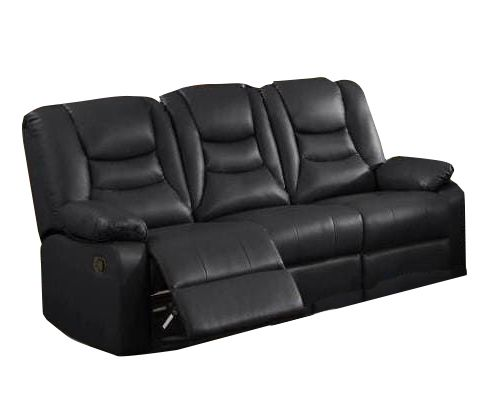 KIRK 3 places RELAX simili Leather Gel
