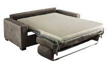 MATHIAS, Convertible pour couchage quotiden 120, 140 ou 160cm. Revêtement PU Cayenne ou Torres